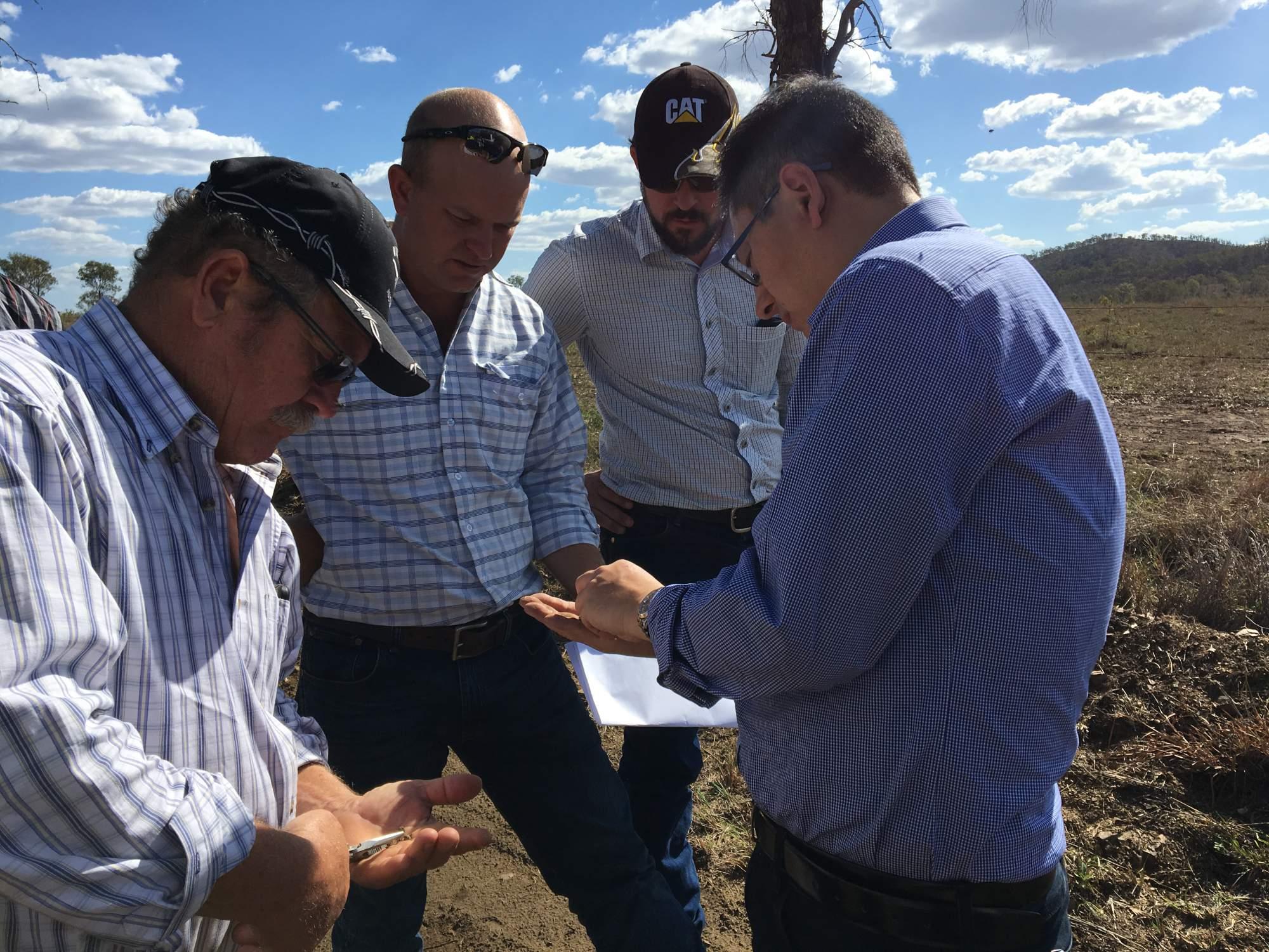 mining site investigation